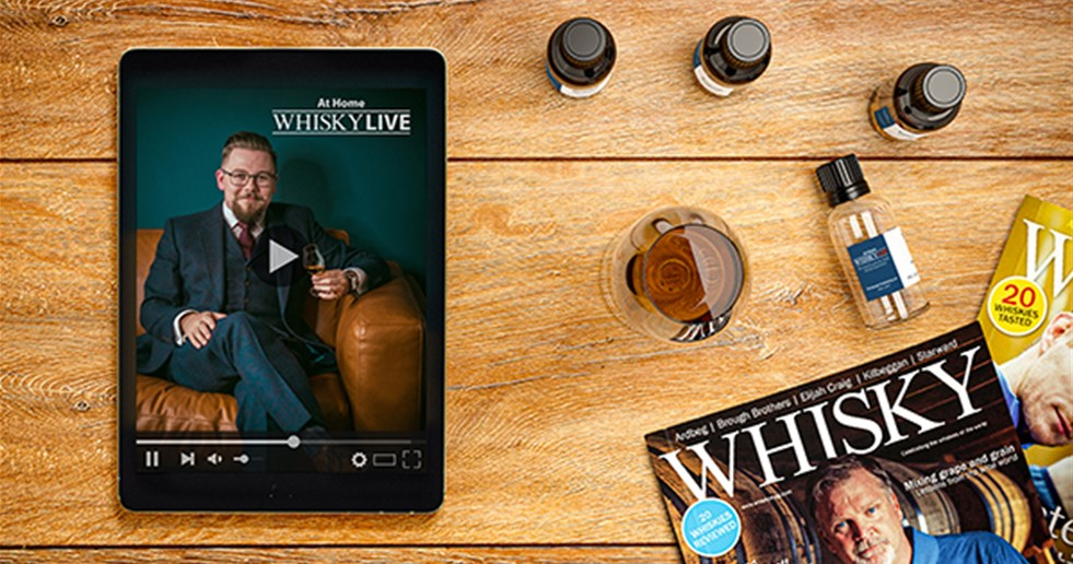 Whisky Live TV can be watched on demand, via computer, tablet or phone