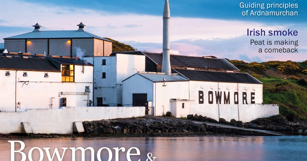 Our cover delves into a new pairing between Bowmore and Aston Martin